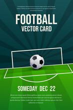 Football, Soccer Flyer, Poster Design
