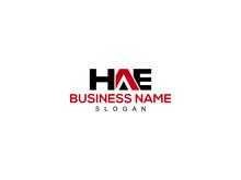 HAE Logo Letter Design For Business