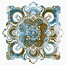 Mandala Oriente Antiguo Fria