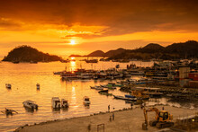Sunset On The Labuan Bajo Harbor