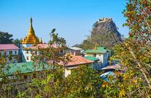 Taung Kalat Temple, Mount Popa, Myanmar
