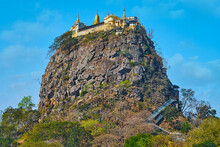 Explore Mount Popa Buddhist Site, Myanmar