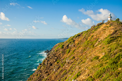 Murais de parede Morning view of Byron Bay Lighthouse, the most eastern mainland of Australia, New South Wales, Australia