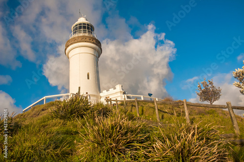 Fotografia Morning view of Byron Bay Lighthouse, the most eastern mainland of Australia, New South Wales, Australia