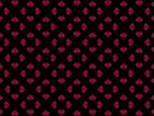 Pink And Purple Pattern Black Background