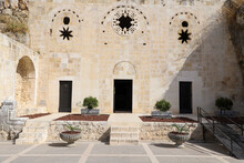HATAY, TURKEY, OCTOBER 20, 2020: Saint Pierre Church (Memorial Museum). (Antakya - Turkey) Front Entrance
