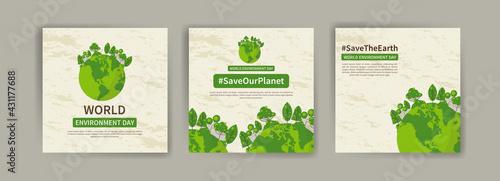 Canvas Print World Environment Day