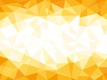 抽象幾何学模様イラスト背景素材オレンジ