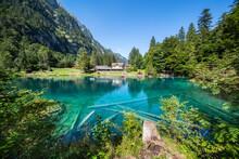 Blausee Lake Near Kandergrund, Switzerland