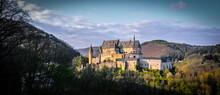Ancient Vianden Castle In Luxemburg - Travel Photography