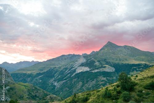 Canvas Print Paisajes de los Pirineos