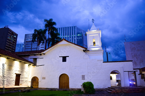 Iglesia la Merced - Cali, Colombia Fototapet