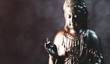 Buddha Statue, Zen Meditation In Yoga
