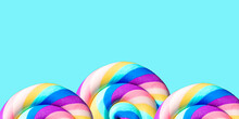 Abstract Summer Bright Colorful Background