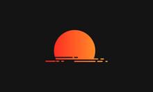 Background Magic Golden Hour Wiith Beautifull Sunset
