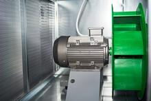 Air Handling Unit Internal Exterior Motor Exhaust Plenum Fan