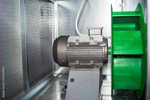 Valokuva air handling unit internal exterior motor Exhaust plenum fan