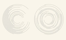 Abstract Background With Circles. Halftone Design.