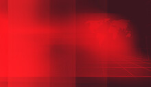 3D Rendering Of Graphical Studio News Red Theme Background With World Map And Red Bars