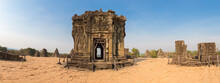 Phnom Bakheng Temple. Hindu Temple In The Form Of A Temple Mountain And Part Of Angkor Complex Temples. UNESCO Site In Cambodia