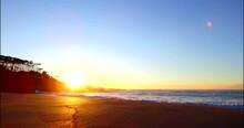 Sun Rising Over Emily Miller Beach