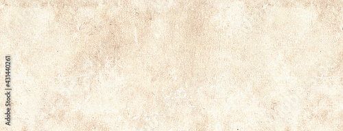 Fotografie, Obraz Classic brown wet watercolor on white splash paint texture or grunge background
