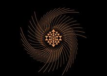 Shri Yantra Powerful Vector Pattern
