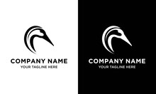 Goose Head Logo Vector Design, Goose Or Duck Icon In Trendy And Abstract Luxury Outline Style