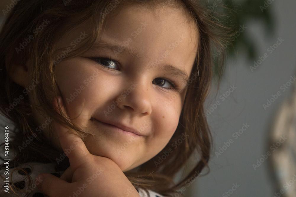 Fototapeta Portret dziewczynki.