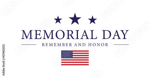 Murais de parede Memorial Day