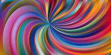 Abstract Multi Color Swirl Background