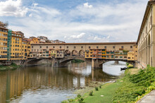 The Ponte Vecchio Bridge In Florence, Italy