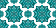 Mandala Ornament. Traditional Arabic, Indian Motifs. Great For Fabric And Textile