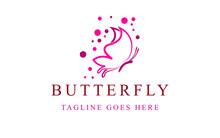 Butter Fly Logo