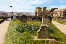 St Mary's Graveyard, Whitby, North Yorkshire