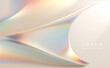 Abstract soft color light refraction background
