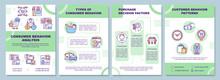 Consumer Behavior Analysis Brochure Template