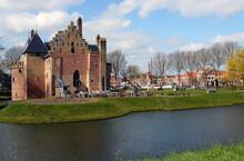 Kasteel Radboud In Medemblik Am Ijsselmeer