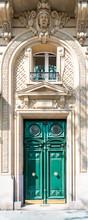 Paris, An Ancient Wooden Door