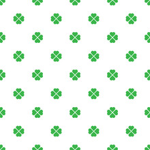 Beautiful Small Green Flowers Isolated On White Background. Cute Floral Seamless Pattern. Vector Simple Flat Graphic Illustration. Texture.