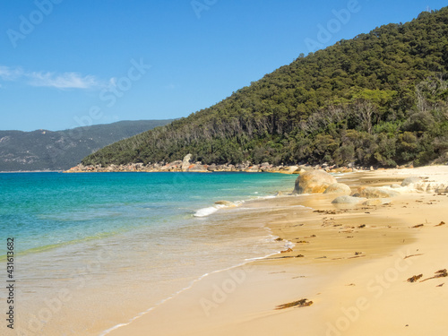 Obraz na plátne Another beautiful sandy beach at North Waterloo Bay - Wilsons Promontory, Victor