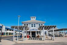 Hampton Beach State Park On Ocean Boulevard In Hampton Beach, Town Of Hampton, New Hampshire NH, USA.