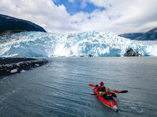 Kayaking In Ailaic Bay, Alaska