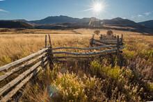 Colorado Wooden Fence