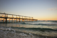 Sunset At The Sand Dredge - The Spit, Gold Coast