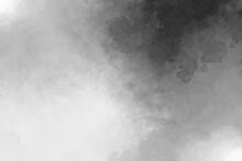イラスト素材 モノクロの水彩風背景素材