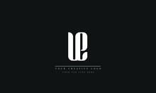 Letter Logo Design With Creative Modern Trendy Typography Ue Eu U E