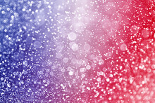 Patriotic Red White And Blue Glitter Sparkle Background