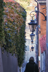 Wąska stara uliczka