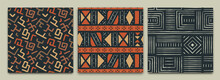 Africa Tribal Art Ethnic Seamless Pattern Set
